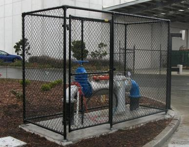 Water Backflow Meter Cages - Northside, NZ