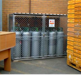 45kgs LPG Bottles Cages - Northside, NZ