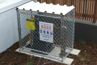 Natural Gas Meter Cages - Northside, NZ
